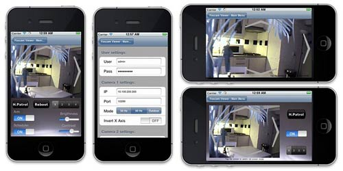 IP camera philippines mobile view