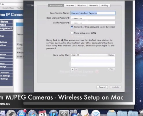 wireless setup on mac