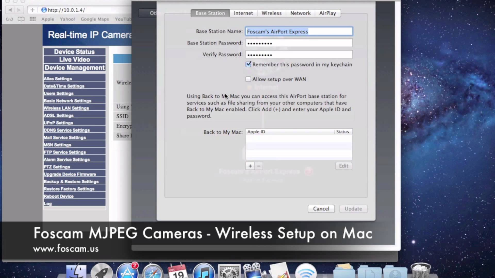 How To Configure Ip Camera On Mac IP Camera SupportBonjour