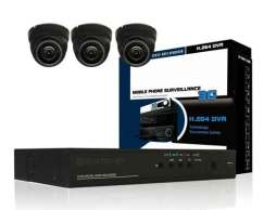 3 Channel CCTV Package 700TVL
